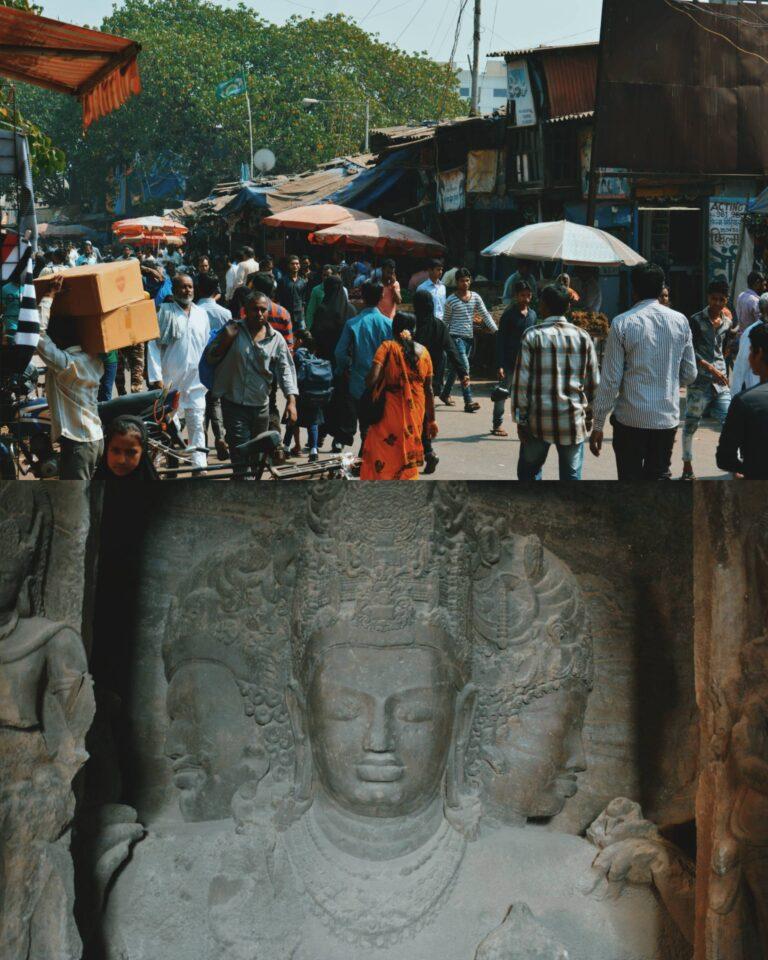 dharavi slum tour + Elephanta caves tour